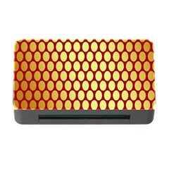 Red And Gold Effect Backing Paper Memory Card Reader With Cf