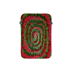 Red Green Swirl Twirl Colorful Apple Ipad Mini Protective Soft Cases by Nexatart