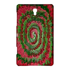 Red Green Swirl Twirl Colorful Samsung Galaxy Tab S (8 4 ) Hardshell Case  by Nexatart