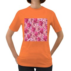 Roses Flowers Rose Blooms Nature Women s Dark T Shirt by Nexatart