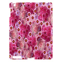 Roses Flowers Rose Blooms Nature Apple Ipad 3/4 Hardshell Case by Nexatart