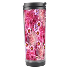 Roses Flowers Rose Blooms Nature Travel Tumbler by Nexatart