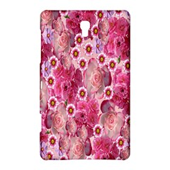 Roses Flowers Rose Blooms Nature Samsung Galaxy Tab S (8 4 ) Hardshell Case  by Nexatart