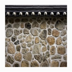 Roof Tile Damme Wall Stone Medium Glasses Cloth (2 Side) by Nexatart