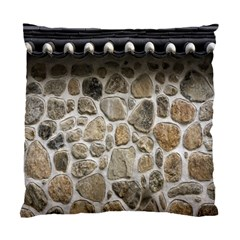 Roof Tile Damme Wall Stone Standard Cushion Case (one Side) by Nexatart