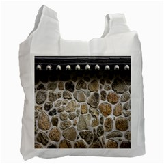 Roof Tile Damme Wall Stone Recycle Bag (one Side)