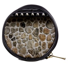 Roof Tile Damme Wall Stone Mini Makeup Bags