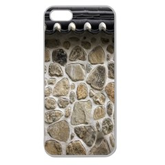 Roof Tile Damme Wall Stone Apple Seamless Iphone 5 Case (clear)