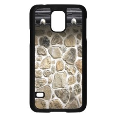 Roof Tile Damme Wall Stone Samsung Galaxy S5 Case (black) by Nexatart