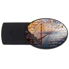 San Francisco Usb Flash Drive Oval (4 Gb) by Nexatart