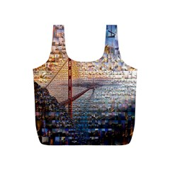San Francisco Full Print Recycle Bags (s)  by Nexatart