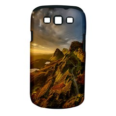 Scotland Landscape Scenic Mountains Samsung Galaxy S Iii Classic Hardshell Case (pc+silicone) by Nexatart