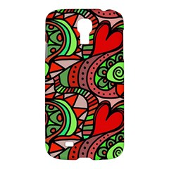 Seamless Tile Background Abstract Samsung Galaxy S4 I9500/i9505 Hardshell Case by Nexatart