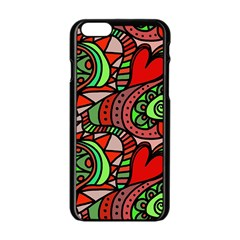 Seamless Tile Background Abstract Apple Iphone 6/6s Black Enamel Case by Nexatart