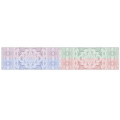 Seamless Kaleidoscope Patterns In Different Colors Based On Real Knitting Pattern Flano Scarf (large) by Nexatart