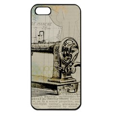 Sewing  Apple Iphone 5 Seamless Case (black)