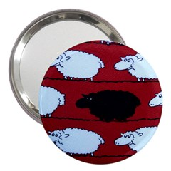 Sheep 3  Handbag Mirrors