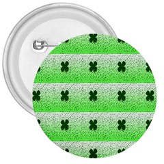 Shamrock Pattern 3  Buttons by Nexatart