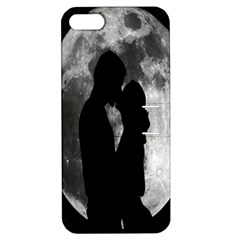 Silhouette Of Lovers Apple Iphone 5 Hardshell Case With Stand