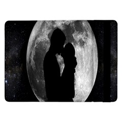 Silhouette Of Lovers Samsung Galaxy Tab Pro 12 2  Flip Case by Nexatart