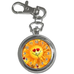 Smiley Joy Heart Love Smile Key Chain Watches by Nexatart