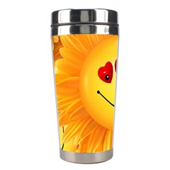 Smiley Joy Heart Love Smile Stainless Steel Travel Tumblers by Nexatart