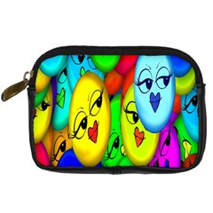Smiley Girl Lesbian Community Digital Camera Cases by Nexatart