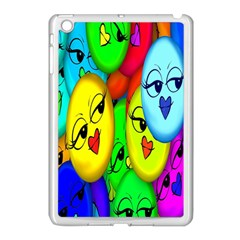 Smiley Girl Lesbian Community Apple Ipad Mini Case (white)