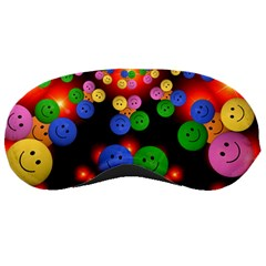 Smiley Laugh Funny Cheerful Sleeping Masks