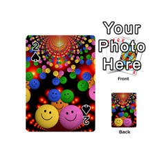 Smiley Laugh Funny Cheerful Playing Cards 54 (mini)  by Nexatart