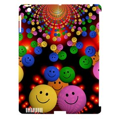 Smiley Laugh Funny Cheerful Apple Ipad 3/4 Hardshell Case (compatible With Smart Cover) by Nexatart
