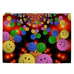 Smiley Laugh Funny Cheerful Cosmetic Bag (xxl)