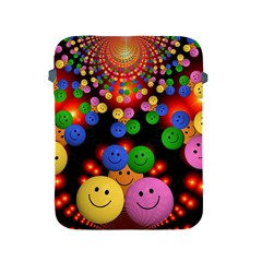 Smiley Laugh Funny Cheerful Apple Ipad 2/3/4 Protective Soft Cases by Nexatart