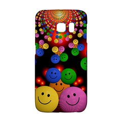 Smiley Laugh Funny Cheerful Galaxy S6 Edge by Nexatart