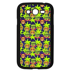 Smiley Background Smiley Grunge Samsung Galaxy Grand Duos I9082 Case (black) by Nexatart