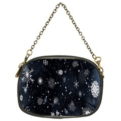 Snowflake Snow Snowing Winter Cold Chain Purses (one Side)