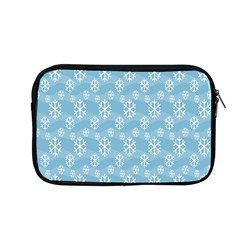 Snowflakes Winter Christmas Apple Macbook Pro 13  Zipper Case by Nexatart