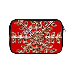 Snowflake Jeweled Apple Macbook Pro 13  Zipper Case by Nexatart
