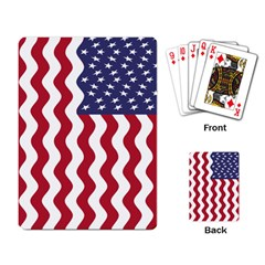 American Flag Playing Card by OneStopGiftShop