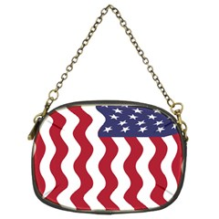 American Flag Chain Purses (two Sides)  by OneStopGiftShop