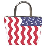 American Flag Bucket Bags Front