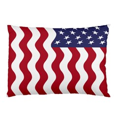 American Flag Pillow Case by OneStopGiftShop