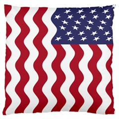 American Flag Large Cushion Case (one Side) by OneStopGiftShop