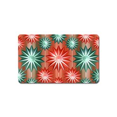 Star Pattern  Magnet (name Card)