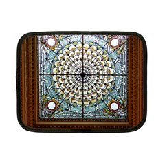 Stained Glass Window Library Of Congress Netbook Case (small)  by Nexatart