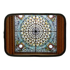 Stained Glass Window Library Of Congress Netbook Case (medium)  by Nexatart