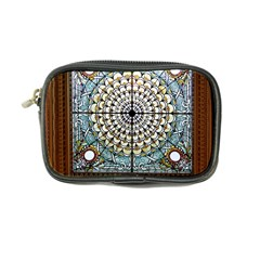 Stained Glass Window Library Of Congress Coin Purse by Nexatart
