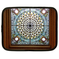 Stained Glass Window Library Of Congress Netbook Case (xxl)  by Nexatart