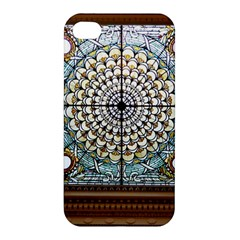 Stained Glass Window Library Of Congress Apple Iphone 4/4s Premium Hardshell Case