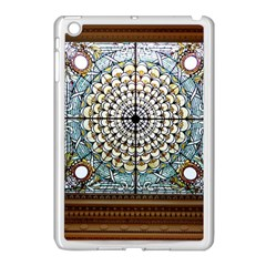 Stained Glass Window Library Of Congress Apple Ipad Mini Case (white) by Nexatart